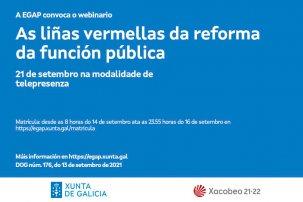 Webinario As liñas vermellas da reforma da función pública